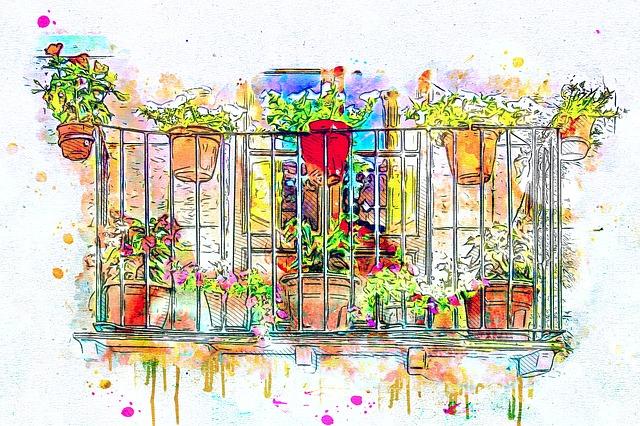Kresba balkónu so zábradlím a kvetmi.jpg