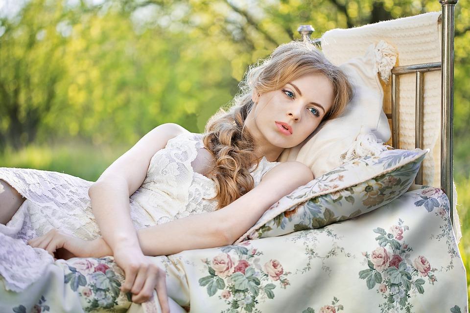 posteľ, príroda